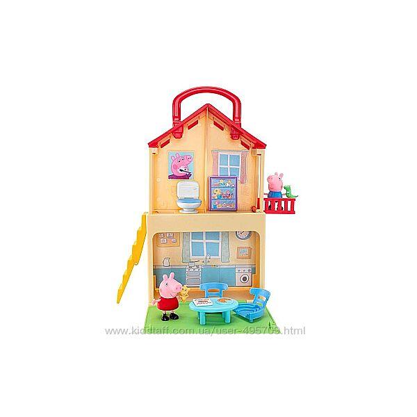Набор игровой домик свинки Пеппы Peppa Pig Pop n Play House Playset