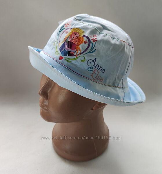 Детская панамка шляпа для девочки холодное сердце ельза 1-3 года 73