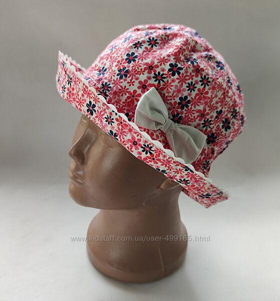 Детская панамка панама шляпа для девочки  1-3 года 74