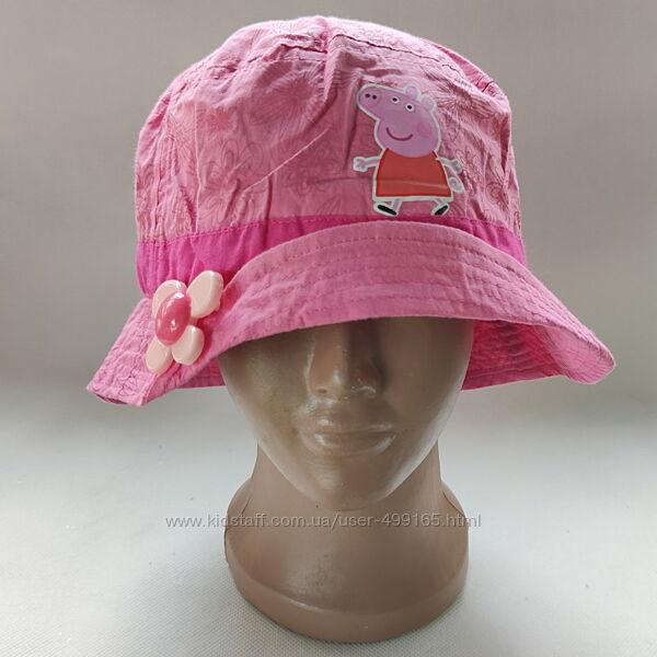 Детская панамка для девочки  свинка пеппа 3-6 лет 68