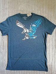 Новые мужские футболки Ralph Lauren, Aeropostale, American Eagle