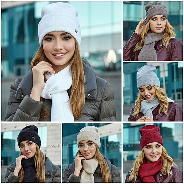 Комплект Беатрис шапка и шарф 5044-10