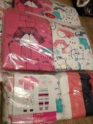 Пижамки девочкам 3-6 лет Primark в наличии.  Цена за упаковку из 2 пижам
