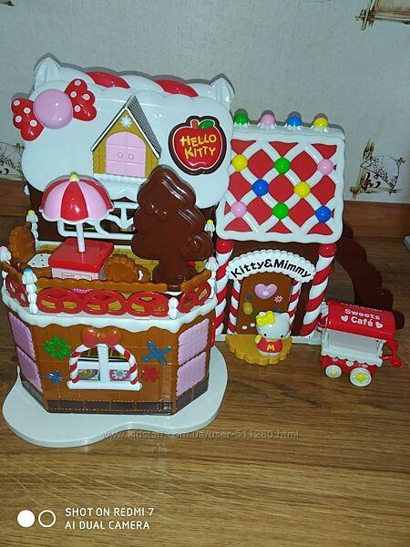 Пряничный домик Hello Kitty с бонусом