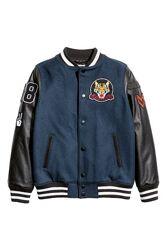 Бейсбольная куртка H&M 10-12лет
