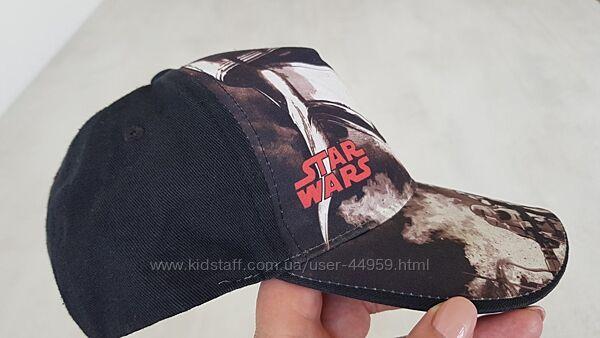 Две фирменных бейсболки на 51-53см Star Wars Disney S&A, CROPP комуфляж