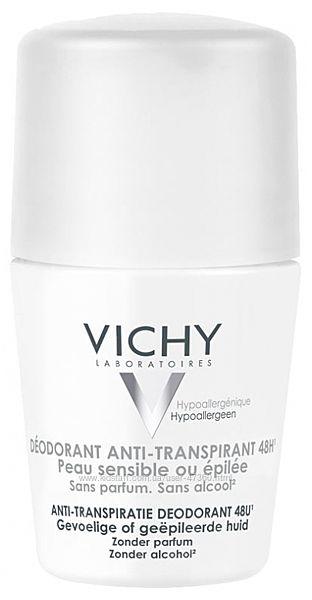Vichy 48H  Для чувствительной кожи
