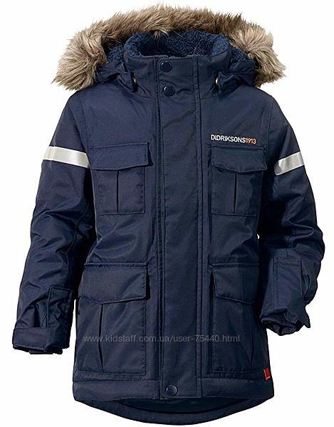 Didriksons Nokosi зимняя куртка на рост 110-118см