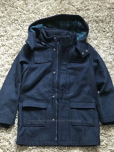 Новое деми пальто 8-9 лет H&M школьная модель р 134