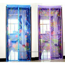 Акция Антимоскитная сетка штора на дверь рызные размеры