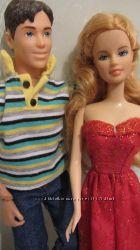 куколка Барби рыжая   Кен
