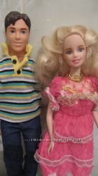 Кен и Барби блондиночка