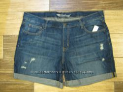 ОБ 106 см. Womens the boyfriend cuffed denim shorts