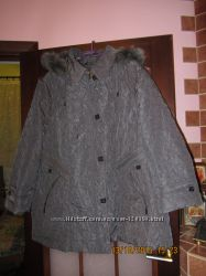 Зимняя куртка для пышной красавицы
