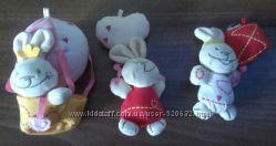 продам игрушечки  кролики  фирмы Chicco