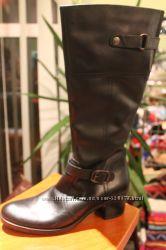 Кожаные сапоги от BATA 41р. маломерка