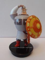 Персонажи мультфильма Три Богатыря эксклюзивные коллекционные игрушки