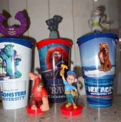Персонажи мультфильмов в ассортименте игрушка топпер  коллекционная