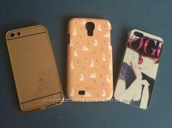 Чехлы на iPhone 5 и Samsung S4