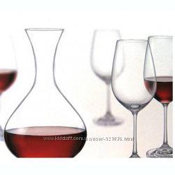 Набор 2 винных бокала и графин Отличный подарок