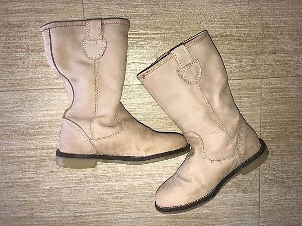 Zara girl winter Испания 30 р. сапоги демисезонные чоботи чобітки ботинки