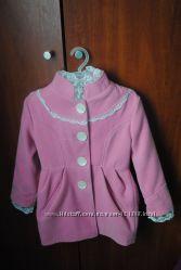 Шикарное кашемировое пальто Luxik на девочку  110 рост , состояние нового