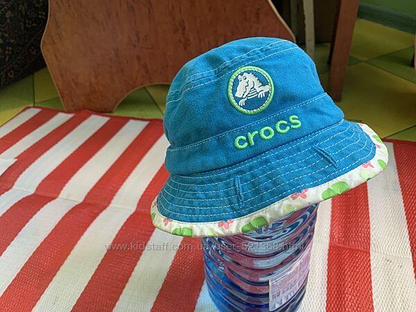 Обалденная панама Crocs  на лето 12-24 мес