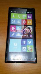 Чехол на Nokia Lumia 730 силиконовый Подбор чехлов