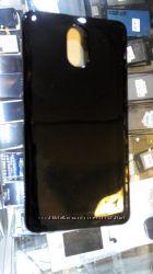 Чехол и стекло пленка на Леново Vibe p1m прозрачный матовый Все Цвета