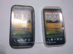 Чехол защитный HTC Desire SV Black Силиконовый