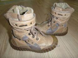 кожанные ботинки р. 27 стелька 17см