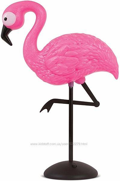 Лампа ночник Фламинго. Flamingo Decor Pink Standing Lamp - LED