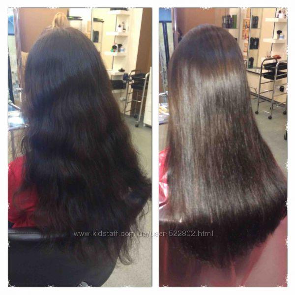 Бразильское выпрямление, восстановление волос кератином Pure Brazilian, США