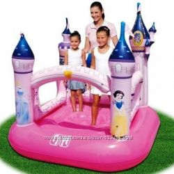 Акция Игровой надувной центр BestWay 91050 Замок Принцессы