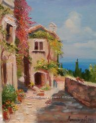 Картина на холсте маслом Тихая Греция