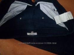 Брюки джинсы темно синие фирмы GEOX прямого кроя