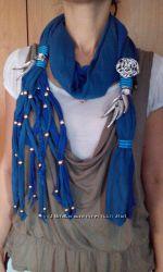 Подарок жене, любимой. Шаль с Италии-мода для шеи