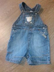 джинсовый комбез для крохи