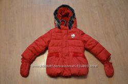 Курточка зимняя на девочку Англия Marks&Spencer, ХОЛЛОФАЙБЕР