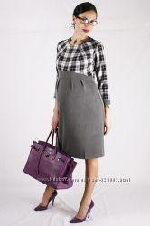 Платье для беременных, цвет серый, артикул 957