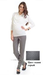Брюки для беременных, цвет серый, арт. 743