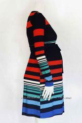 Платье для беременных, цвет индиго, артикул 329