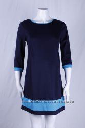 Платье для беременных, цвет индиго, бирюза артикул 919