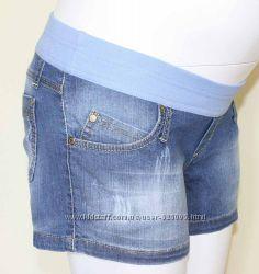 Шорты джинсовые для беременных, артикул 724