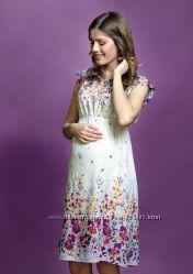 Платье для беременных хлопковое, артикул 823