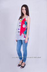 Блуза для беременных шифоновая, артикул 847