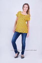 Блуза для беременных, цвет желтый, артикул 647