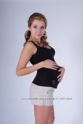 Майка для беременных, цвет коричневый, артикул 434