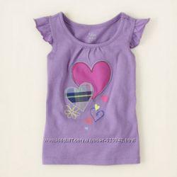 Милые маечки для малышек от ChildrensPlace