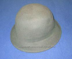 Шляпа новая серо-зеленая